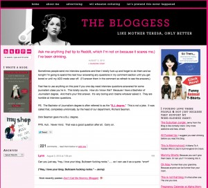 bloggess