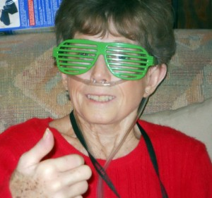 My mom sure could rock the shutter shades.
