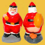 Caganer Santa. For the bad list?